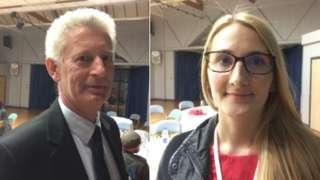 Petter Matten and Katie Thurston