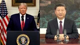 Trump, Xi Jinping na Guterres wakihutubia mkutano wa baraza kuu la umoja wa mataifa