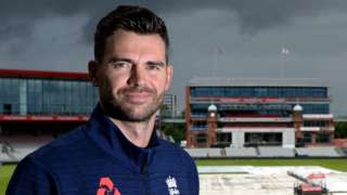 James Anderson at Old Trafford