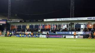 Luton Town's ground at Kenwilworth Road