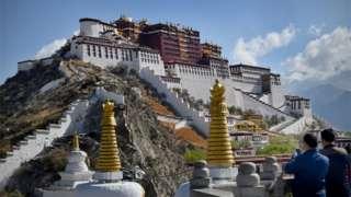 Potala Palace in Lhasa, Tibet