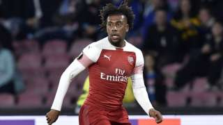 Nigeria and Arsenal's Alex Iwobi