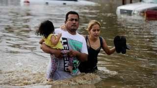 Inundaciones en Honduras