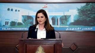 Lübnan Enformasyon Bakanı Manal Abdussamed (arşiv fotoğraf)