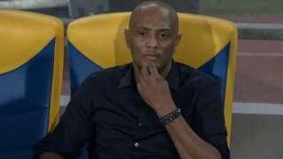 Comoros coach Amir Abdou