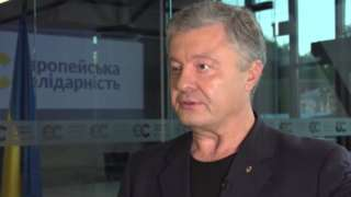 Ukraine's ex-president Petro Poroshenko