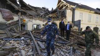 क्रोएशिया भूकम्प
