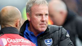 Portsmouth manager Kenny Jackett