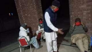 Anjum Mahmood's uncles in quarantine
