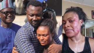 Gomina Ortom, Pius ati Ifeyinwa Angbo