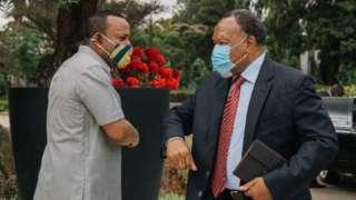 PM Abiy and Kgalema Motlanthe