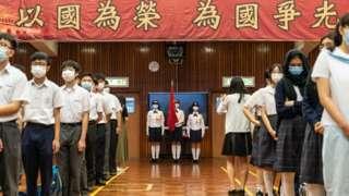 当局在香港的学校加入更多国家意识的教育。