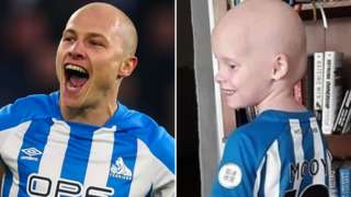 Bella and her inspiration Aaron Mooy