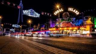 Blackpool's Golden Mile