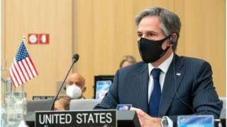 د امریکا د بهرنیو چارو وزیر