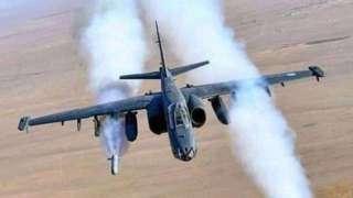 Uzbekistan military plane image