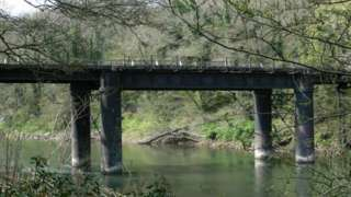Lydbrook Bridge in the Forest of Dean