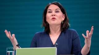 Сопредседательница партии зеленых Германии Анналена Бербок