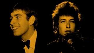 Prince Andrew e Bob Dylan