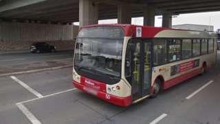 Halton Transport bus