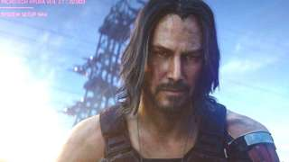 Keanu Reeves' character in Cyberpunk