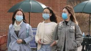 美國疫情嚴峻,不少中國留學生依然選擇留下繼續學業。