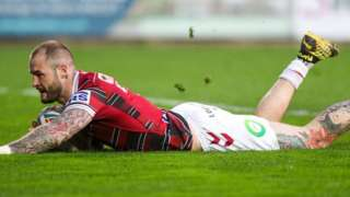 Wigan Warriors' Zak Hardaker
