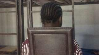 One of di girls bin used
