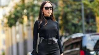 model wearing YSL stuff