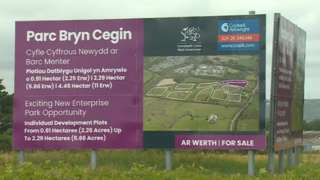 Bryn Cegin business park has been owned by the Welsh Government since 2000