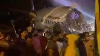 Разбившийся самолет