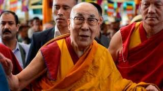 Dalai Lama in 2019
