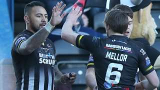 Krisnan Inu's two tries make him joint top Super League scorer with five