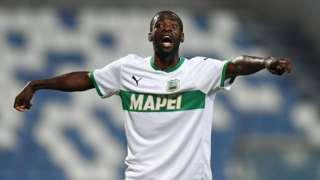 Equatorial Guinea and Sassuolo's Pedro Obiang