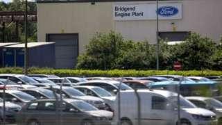 The Bridgend Ford plant
