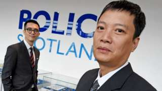 Vietnamese officers working with Police Scotland on human trafficking