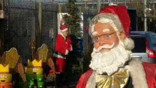 A model of Santa