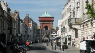 """""""Jumbo"""" water tower, Colchester"""