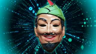 robin hood hacker imagery