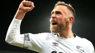 Derby County captain Richard Keogh