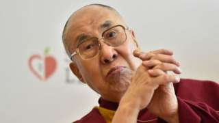 Image shows the Dalai Lama