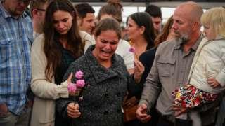 مراسم جنازة أحد ضحايا جرائم القتل في المكسيك