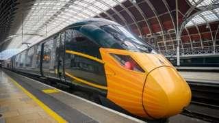 GWR train at Paddington