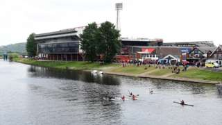 City Ground by the River Trent