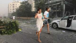ліван, вибух