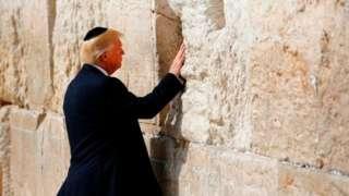 TRump aliahidi wakati wa kampeni yake kwamba ataitambua Jerusalem kama mji mkuu wa Israel