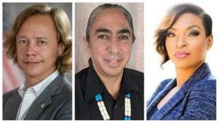 Brock Pierce, Mark Charles iyo Jade Simmons are all running for the US presidency