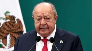 Carlos Romero Deschamps en una imagen de 2018 con motivo del 80 aniversario de la expropiación de la industria del petróleo de México