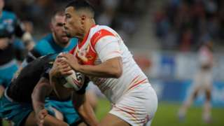 Fouad Yaha had not previously scored a Super League try this season