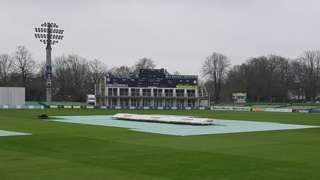 Kent against Gloucestershire is washed out on day one